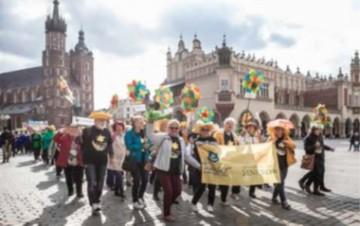 Projekt Zdrowie Człowiek Profilaktyka na VI ogólnopolskich Senioraliach w Krakowie