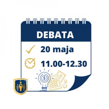 Zapraszamy na debatę ekspercką dot. aktualnych możliwości pozyskiwania środków finansowych na programy zdrowotne w ramach tegorocznego cyklu debat
